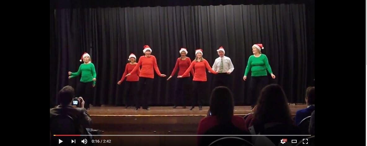 Must Be Santa Tap Dancers 2013