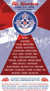 Wichita Riverfest 2016 Poster