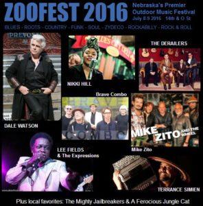 zoofest 2016 lineup